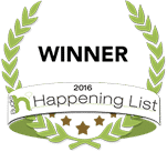 2016 Happening List Winner